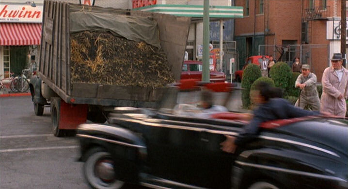 From Back to the Future - Biff shoulda braked...