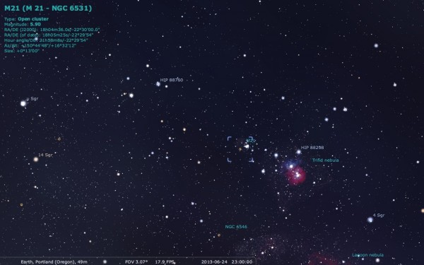 Image credit: me, using Stellarium one more time.