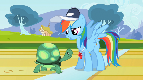 Image credit: My Little Pony: Friendship is Magic, Season 2 Episode 7, via http://mlp.wikia.com/.