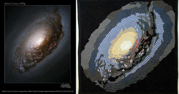 Image credit: NASA and The Hubble Heritage Team (AURA/STScI) (L) and Jimmy McBride (R).